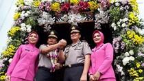 Masuk Polrestabes Surabaya, Kombes Rudi Setiawan Disambut Sholawat