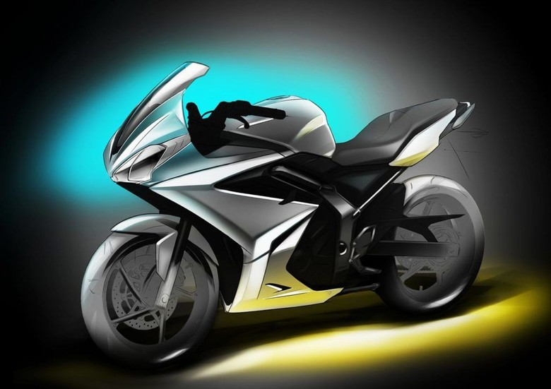 Inikah Tampang Motor 500 cc Hasil Kolaborasi Bajaj dan Triumph?