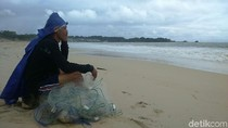 Siklon Dahlia Muncul, Nelayan Garut Enggan Melaut