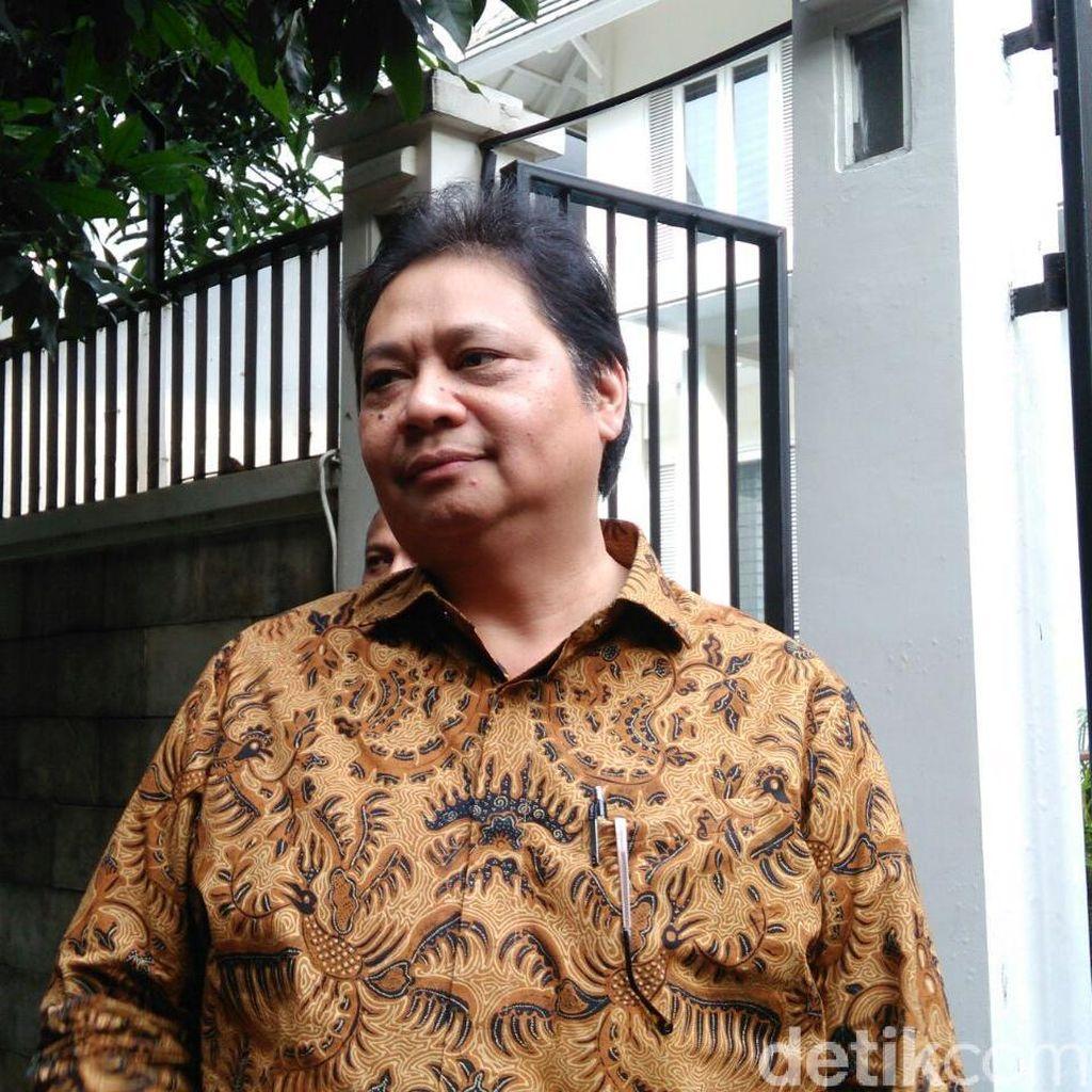 Airlangga: Insyaallah Presiden Jokowi Hadiri Munaslub Golkar di JCC