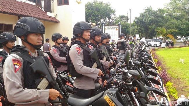 Polda Jateng Kerahkan 1.000 Personel Antisipasi Bencana di Jateng