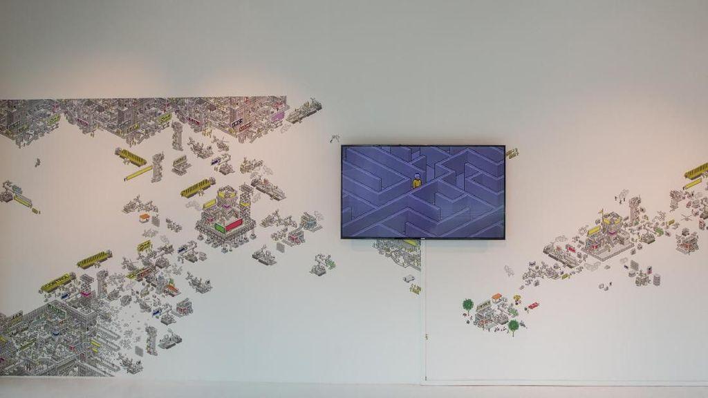 Dua Seniman Indonesia Pamer Karya di Singapore Art Museum