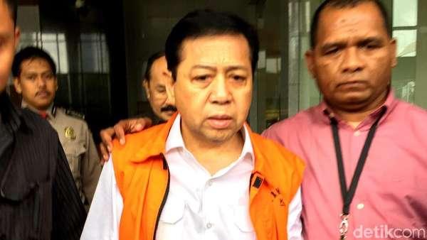 Ditahan KPK, Novanto Masih Dapat Gaji Sebagai Wakil Rakyat
