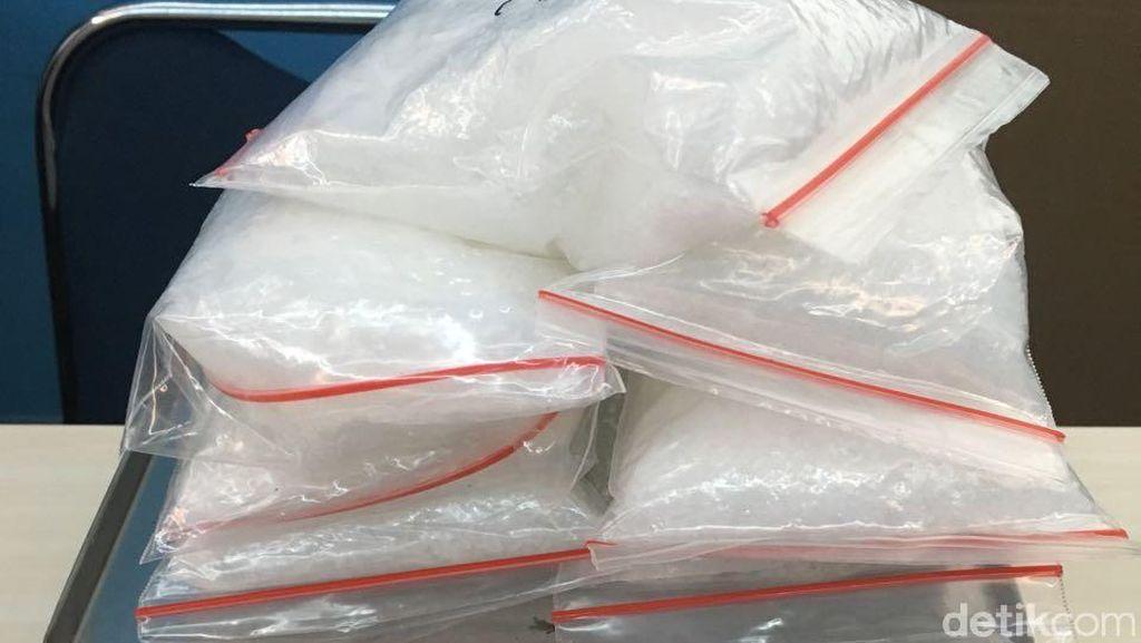 7 Pengedar Narkoba Jaringan Malaysia Dibekuk, 17 Kg Sabu Disita