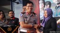 Foto: detikcom Raih Penghargaan dari Korlantas Polri