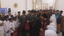 Jokowi: Ajarkan Anak-anak Kita Watak Rasulullah yang Lemah Lembut