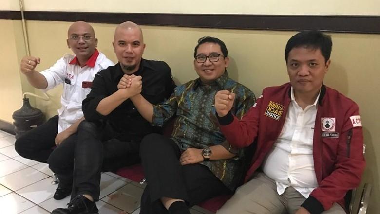 Ahmad Dhani dan Fadli Zon Setuju 212 Dianggap Aksi Politik