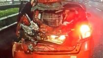 Kecelakaan Truk dan Mobil Terjadi di Tol Tomang arah Kebon Jeruk
