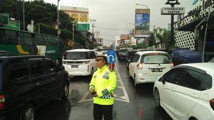 Polisi: Cuaca Puncak Ekstrem, Lalin Macet 7 Km