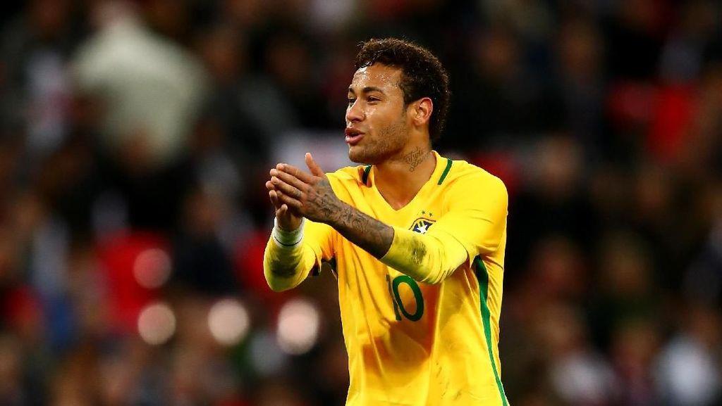 Bisa Fit dan Maksimal di Piala Dunia 2018, Neymar?