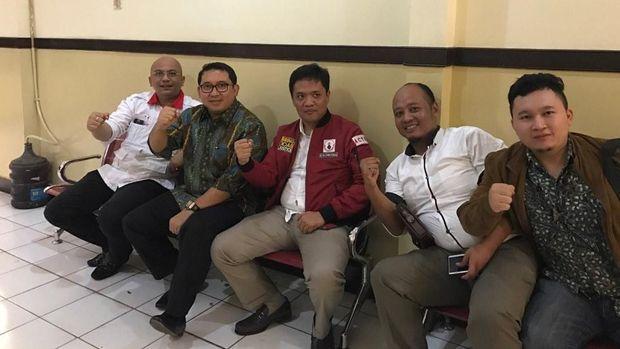 Bersama Habiburokhman, Fadli Zon Masih Dampingi Ahmad Dhani