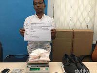 Bea Cukai Batam Gagalkan Penyelundupan Sabu Modus Selip di Paha