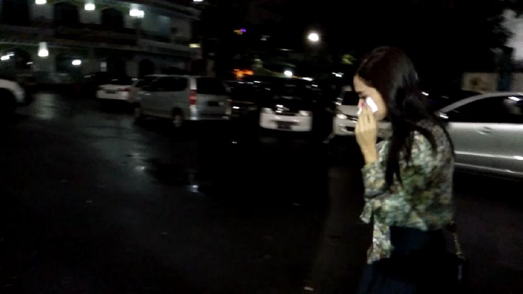 Usai Fadli Zon, Mulan Jameela Datangi Ahmad Dhani di Polres