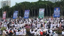Reuni di Monas, Alumni 212 Kritik Keras Pemerintahan Jokowi