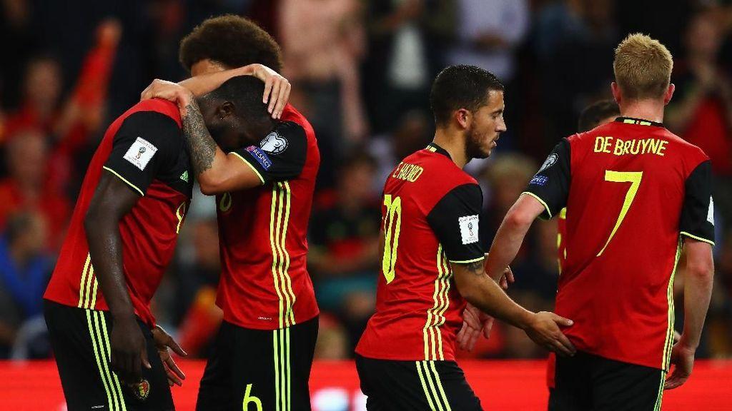 Bintang-bintangnya Lebih Matang, Belgia Bidik Final Piala Dunia