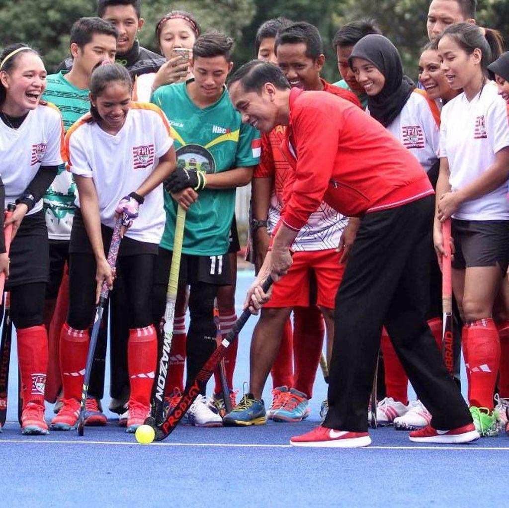 Jokowi Resmikan Empat Venue Asian Games di GBK