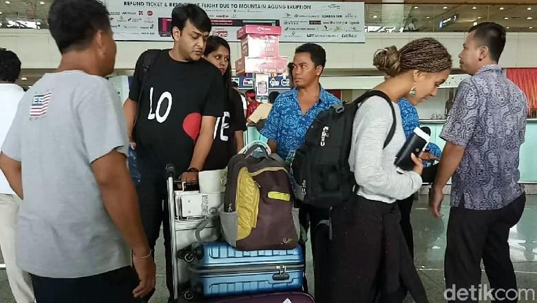 Turis India di Bandara Ngurah Rai (Ardian Fanani/detikTravel)