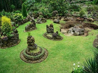 Ini Taman Batu Organik yang Unik