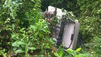 Mobil TVRI Masuk Jurang Usai Live Sail Sabang, 2 Orang Terluka