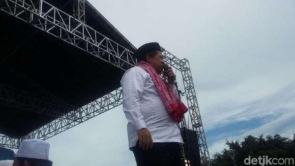 Fahri Hamzah: Pak Jokowi Alumni 212, Kita Doakan Jadi Mujahid
