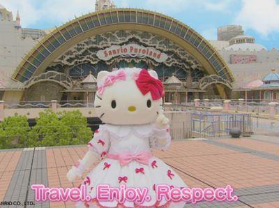 Kawaii! Hello Kitty Jadi Duta Pariwisata PBB