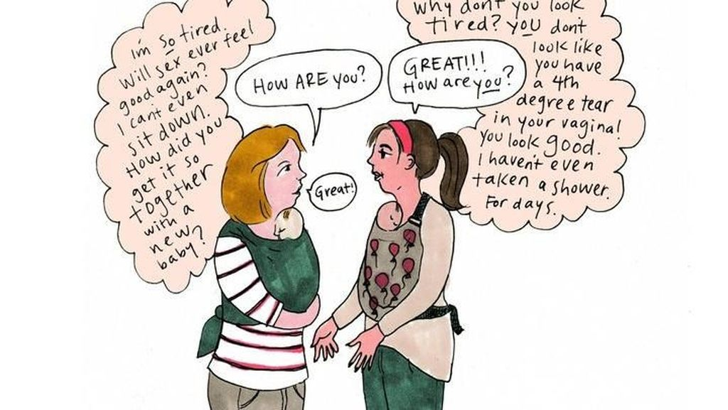 Ketika Depresi Postpartum Ibu-ibu Digambarkan dalam Komik