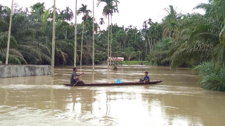 9 Kabupaten di Aceh Kena Banjir, 15 Ribu Warga Mengungsi