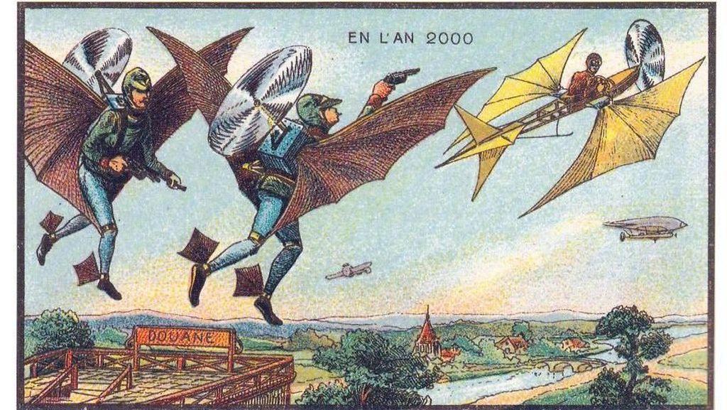 Keren! Imajinasi Manusia 100 Tahun Lalu Tentang Masa Sekarang