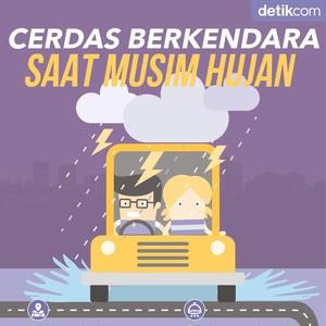 Cerdas Berkendara Saat Musim Hujan