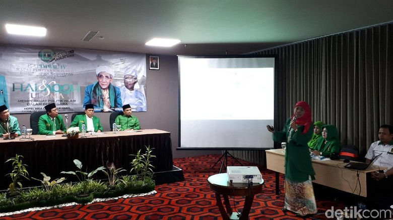 PPP akan Umumkan Dukungan di - Surabaya Ketua Umum Partai Persatuan Pembangunan Romahurmuziy mengatakan pihaknya akan segera menentukan dukungannya untuk Pilgub Jatim Dukungan untuk