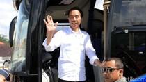 Ngeng... Jokowi Ngebut di Tol Soroja Pakai Bus Persib