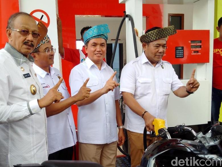 Garap BBM Satu Harga, Pertamina Tambah SPBU Nelayan di Natuna