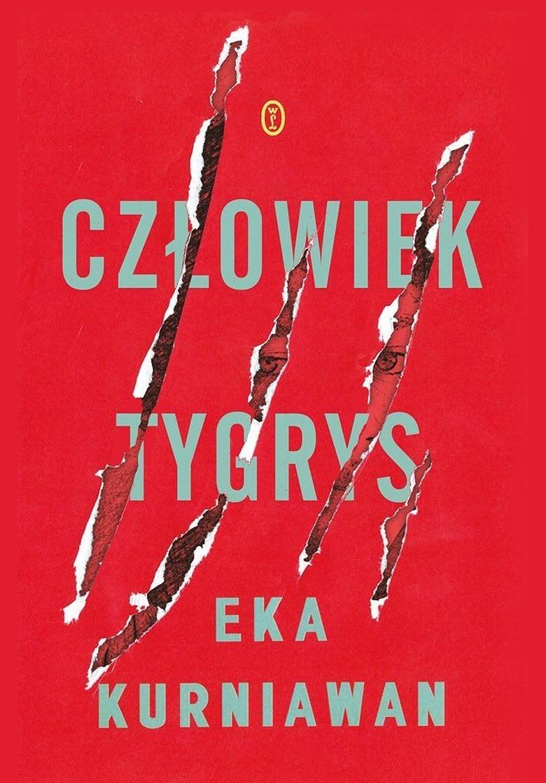 Sampul Terjemahan Bahasa Polandia Lelaki Harimau Sama Seperti Versi Inggris