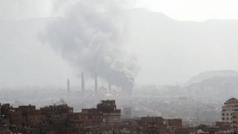 Koalisi Saudi Terima Tawaran Dialog - Sanaa Koalisi pimpinan Arab Saudi di Yaman menerima tawaran pertemuan dari mantan Presiden Ali Abdullah Saleh yang pasukannya