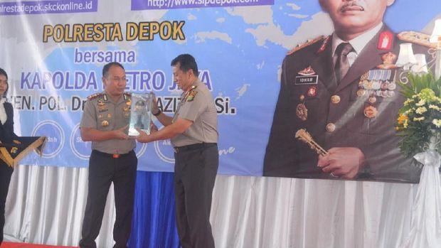 Peluncuran Sistem Informasi Penyidikan (SIP) online di Polresta Depok