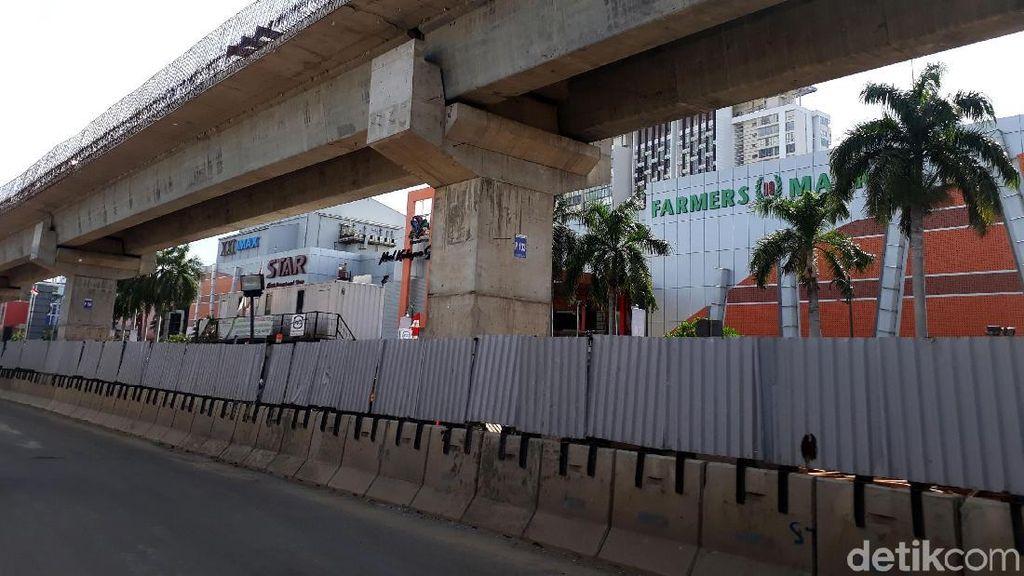 Ini Proyek LRT Jakarta yang Belum Bisa Dipakai Asian Games