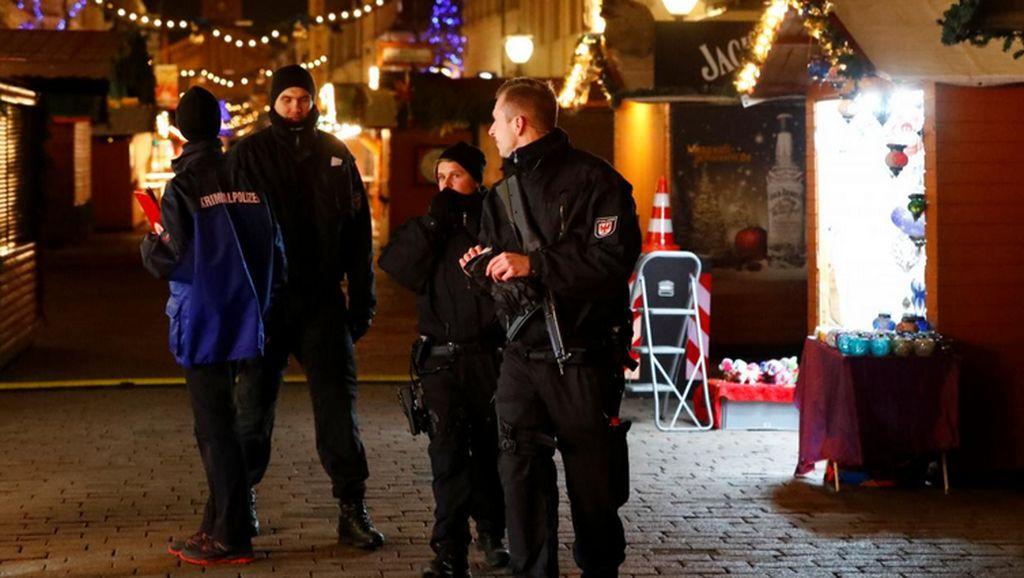 Benda Mencurigakan di Pasar Natal Jerman Punya Potensi Meledak