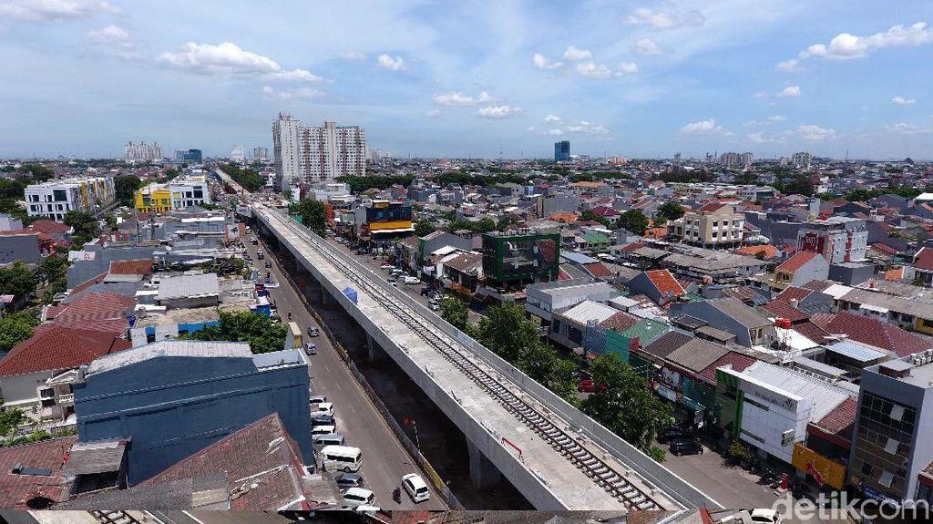 Video: Perkembangan Terkini Proyek LRT Kelapa Gading-Velodrome