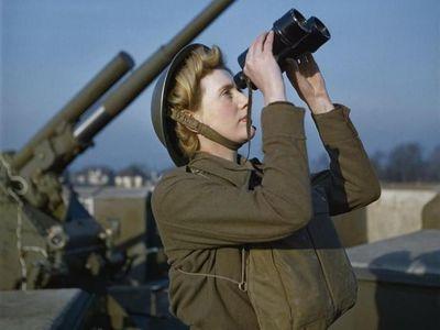 Museum Inggris Punya Foto Langka Perang Dunia II yang Warna-warni