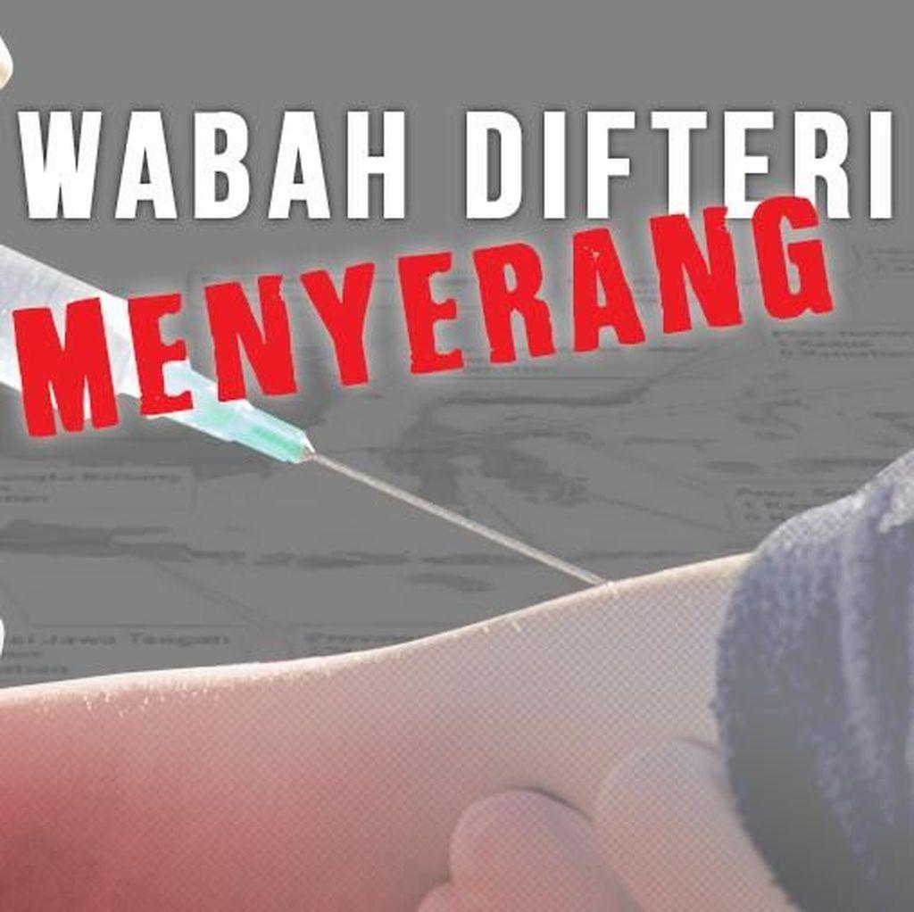 Hari Ini Imunisasi Difteri Serentak di Jakarta, Jabar dan Banten