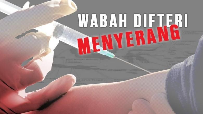 Berstatus KLB, Dinkes Jabar Investigasi Penyebaran Wabah Difteri