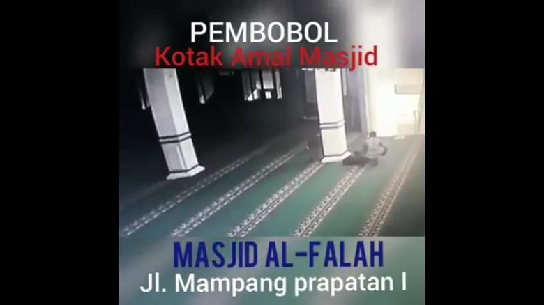 Kodam Jaya Cari Pria Berbaju Loreng yang Bobol Kotak Amal Masjid