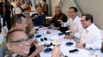 Momen-momen Saat Jokowi Ngopi di Bandung