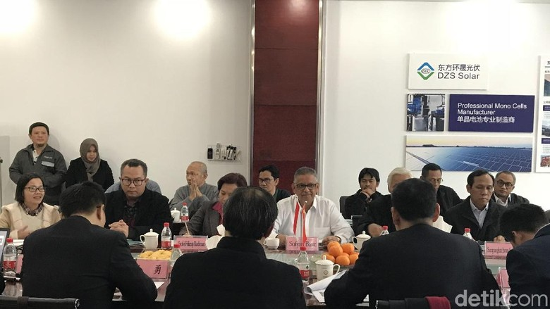 RI Jajaki Kerja Sama Energi Terbarukan dengan China