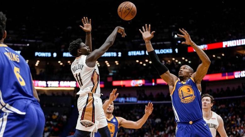 Warriors Kalahkan Pelicans Usai Bangkit dari Ketinggalan 21 Poin