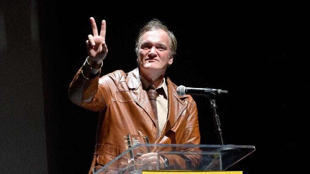 Quentin Tarantino Buka Suara soal Kecelakaan Uma Thurman di Syuting Kill Bill