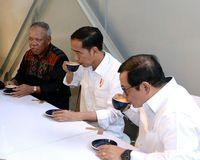Coffee latte jadi racikan kopi yang dipesan oleh Jokowi di Warung Kopi 'Sejiwa'