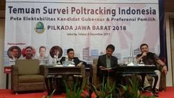 Survei Poltracking: Ridwan Kamil Masih Ungguli Deddy Mizwar