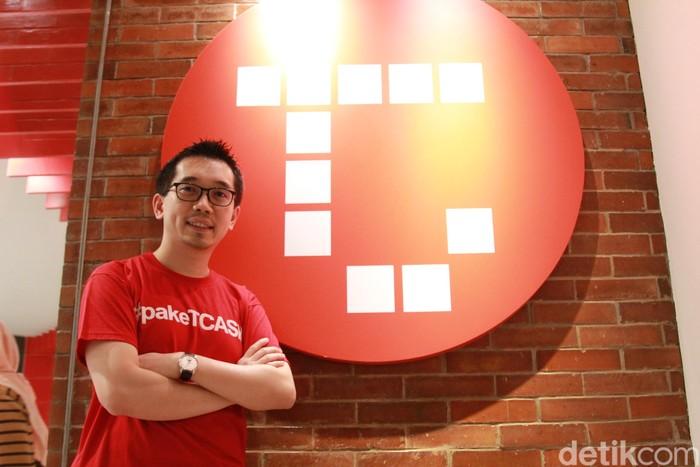 CEO Tcash Danu Wicaksana (Foto: Muhamad Imron Rosyadi/detikINET)