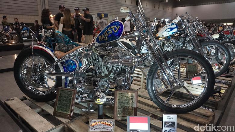 Motor Modif Buatan Orang Indonesia Dapat Penghargaan di Jepang